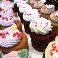 Regular Sized Valentine's Day Cupcakes
