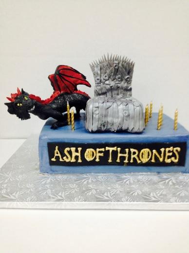 Custom Game of Thrones Birthday Cake