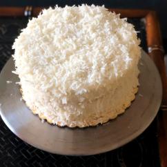 """8"""" Bert's Coconut Cake"""