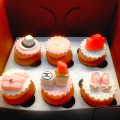 Couture Cupcakes with Edible Accessories