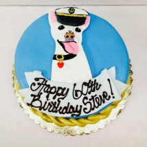 Custom Pet Birthday Cake