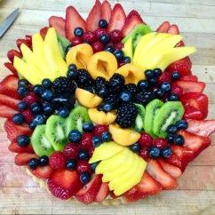 """10"""" Fresh Fruit Tart"""