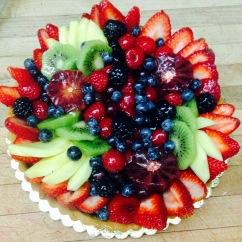 """8"""" Fresh Fruit Tart"""