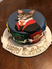 Meowy Pawter and The Order of The Feline Birthday XCake