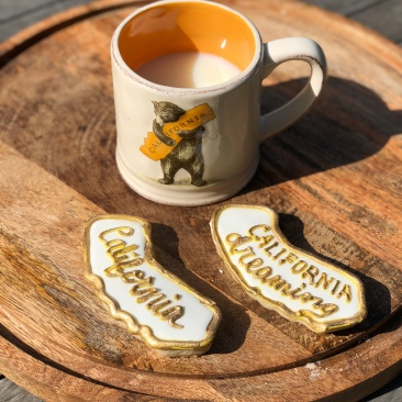 California Love with Royal Icing