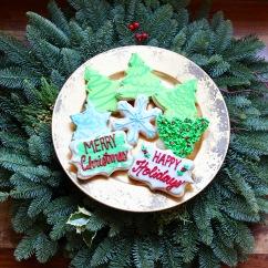 Holiday and Christmas Sugar Cookies with Royal Icing