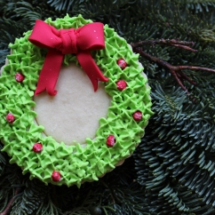 Christmas Sugar Cookie with Royal Icing