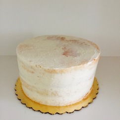 Simple Naked Cake