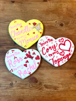 Large 'We Go Together' Sugar Cookies