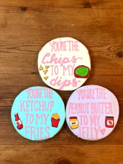 Regular 'We Go Together' Sugar Cookies