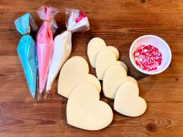 DIY Valentine's Day Sugar Cookie Kit