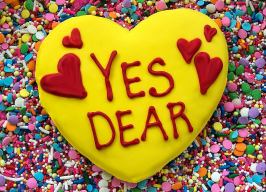 Large Conversation Heart Sugar Cookie with Added Details and Royal Icing